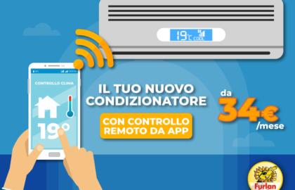 climatizzatore promo app smartphone remoto